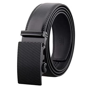 Cinturon cuero hebilla automatica