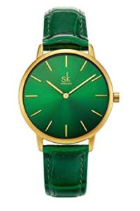Reloj verde Shengke