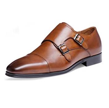 Zapato con hebilla hombre