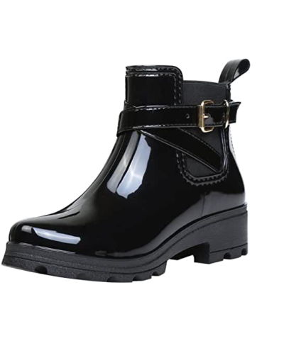 zapatos de agua con hebilla